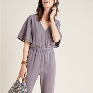 Anthropologie cloth and stone jumpsuit NWOT